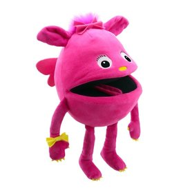 the Puppet Company Pink Baby Monster Puppet