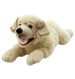 the Puppet Company Playful Puppy Yellow Lab Puppet