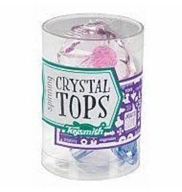 Toysmith Spinning Crystal Top
