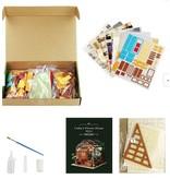 Hands Craft Cathy's Flower House DIY Miniature Dollhouse Kit