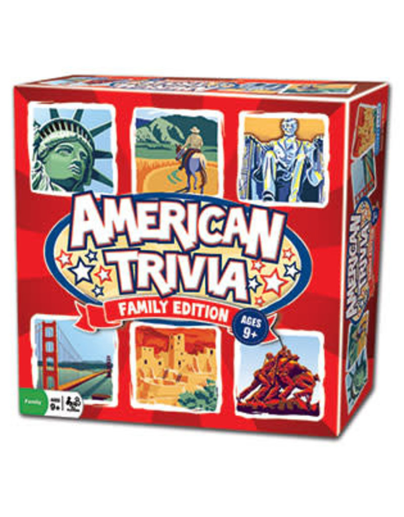 Outset Media American Trivia: Family Edition