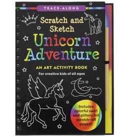 Peter Pauper Scratch and Sketch Unicorn