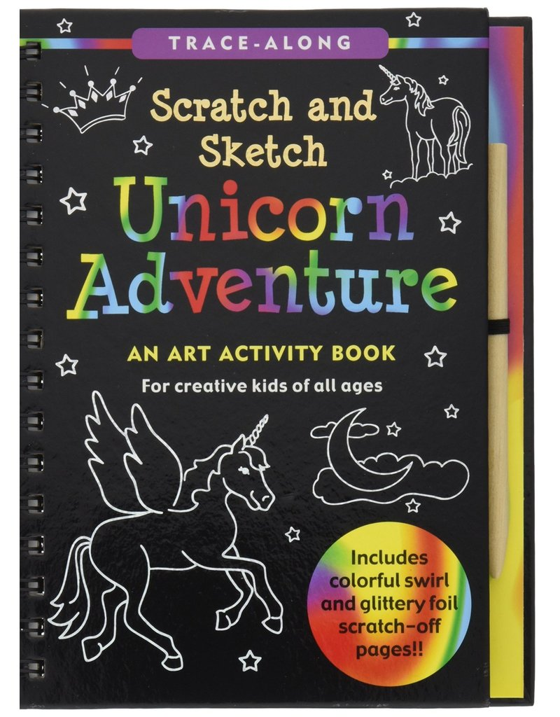 Peter Pauper Scratch & Sketch Unicorn