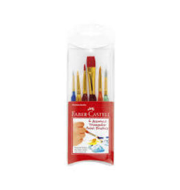 Faber-Castell Triangular Paint Brushes