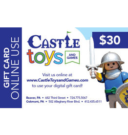 $30 Gift Card Online