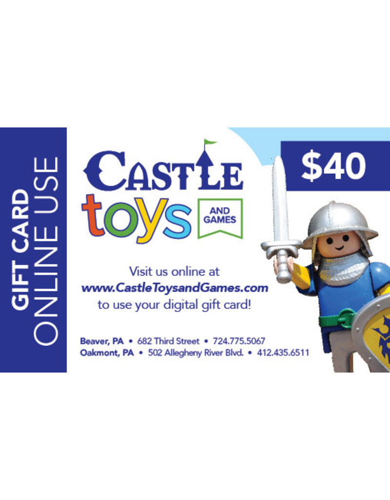 $40 Gift Card Online