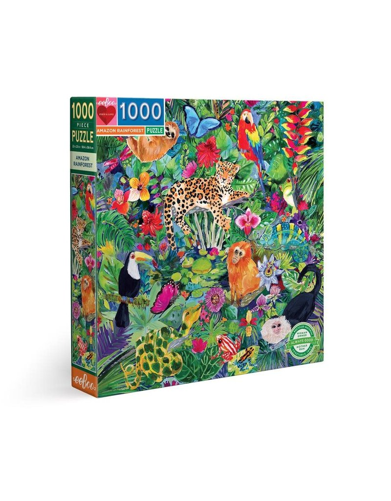 Eeboo Amazon Rainforest 1000 Pc
