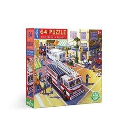 Eeboo Fire Truck in the City 64 Pc