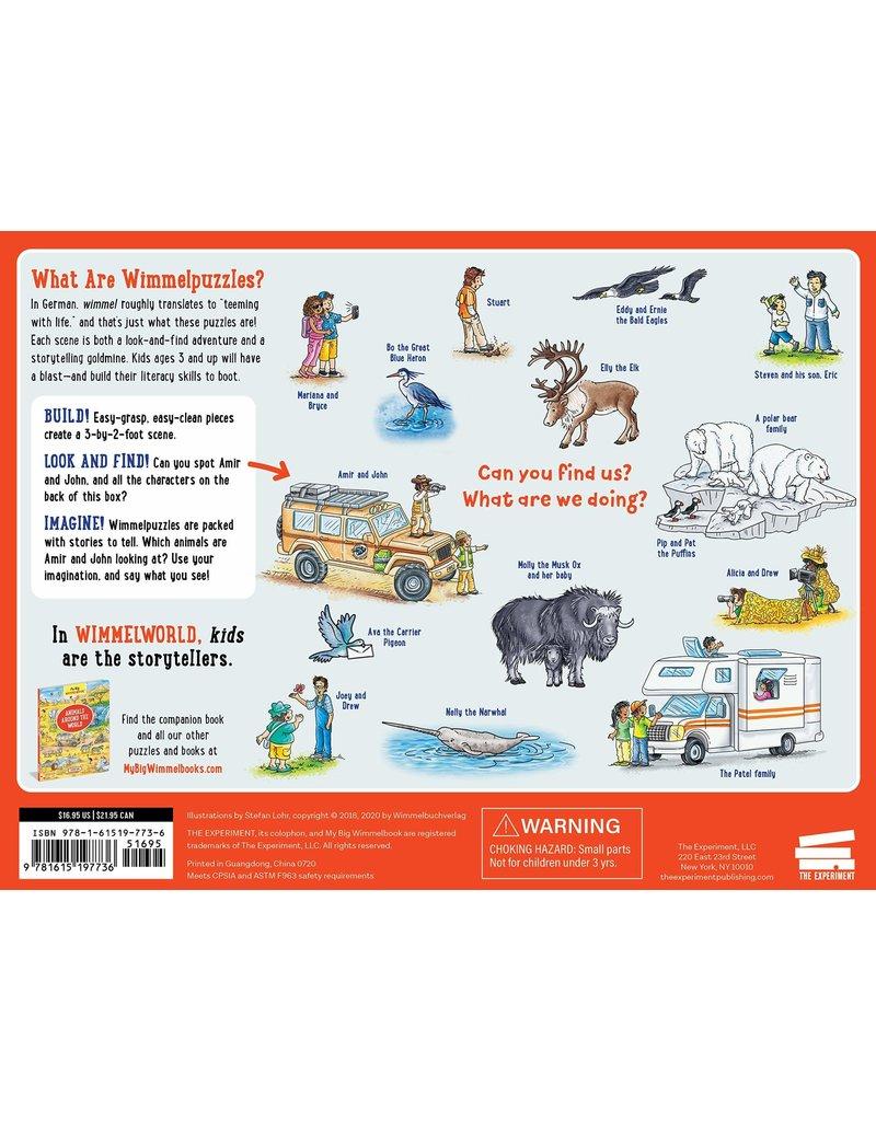 Workman Pub My Big Wimmelpuzzle Animals Around the World 48 pc
