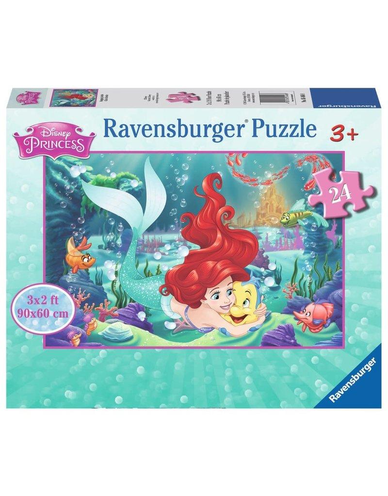 Ravensburger Disney Hugging Arielle floor puzzle