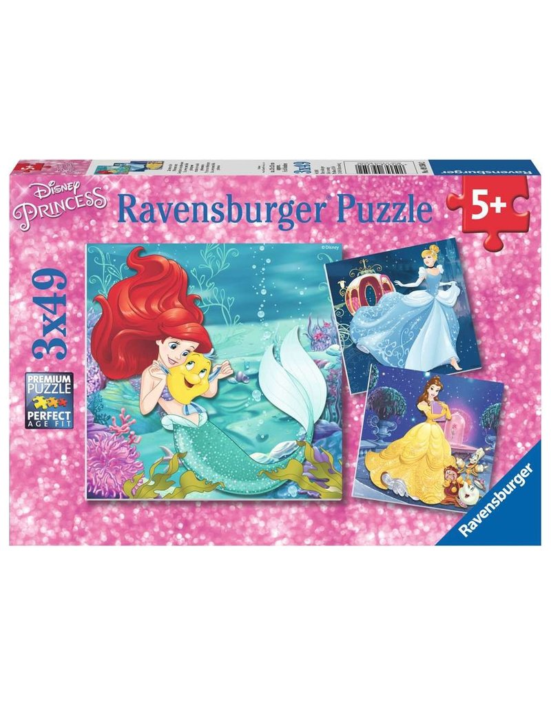 Ravensburger Princesses Adventure 3x49