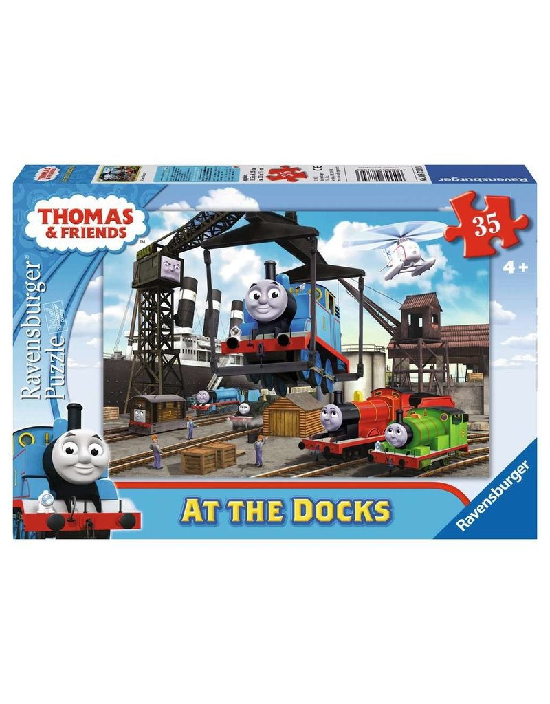 Ravensburger Thomas At the Docks 35 pc