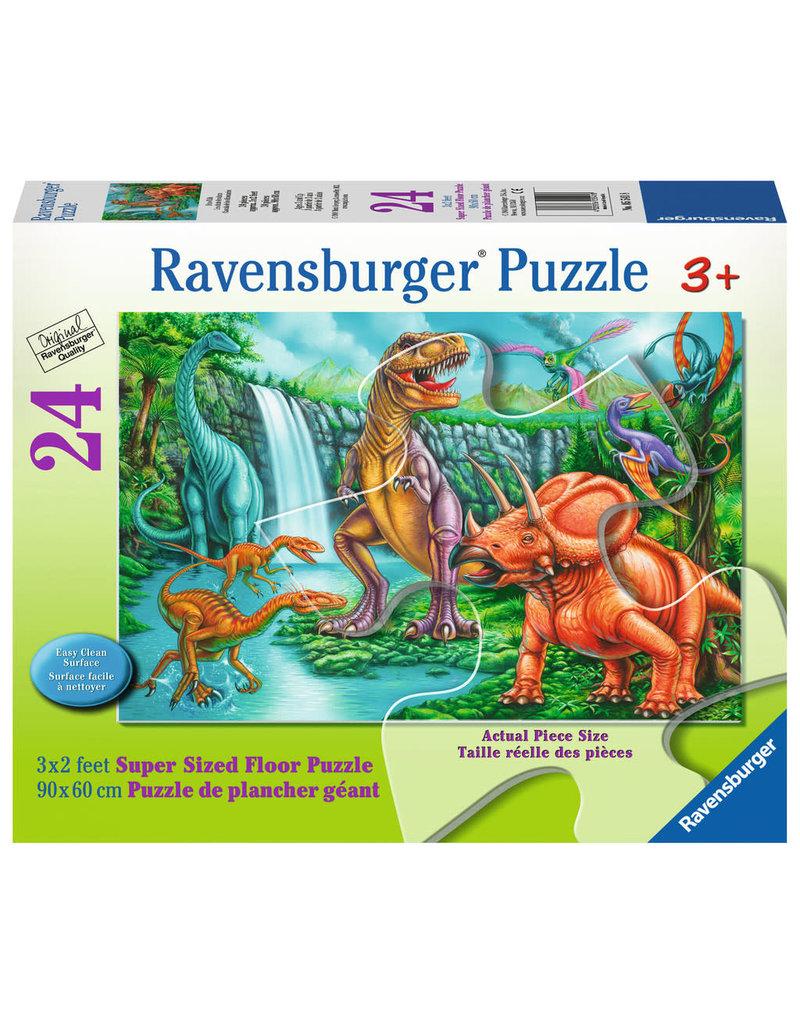 Ravensburger Dino Falls floor puzzle