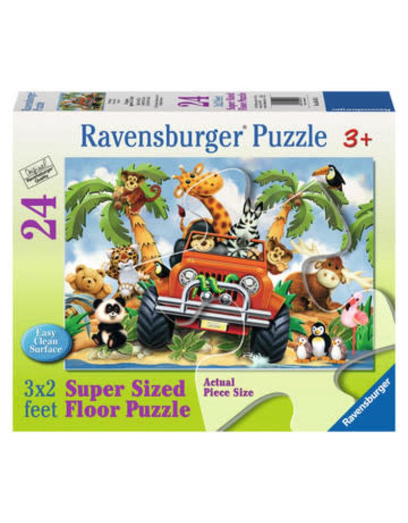 Ravensburger 4-Wheeling floor puzzle