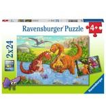 Ravensburger Dinsoaurs at Play 2x24