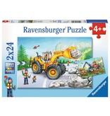 Ravensburger Diggers at Work 2x24