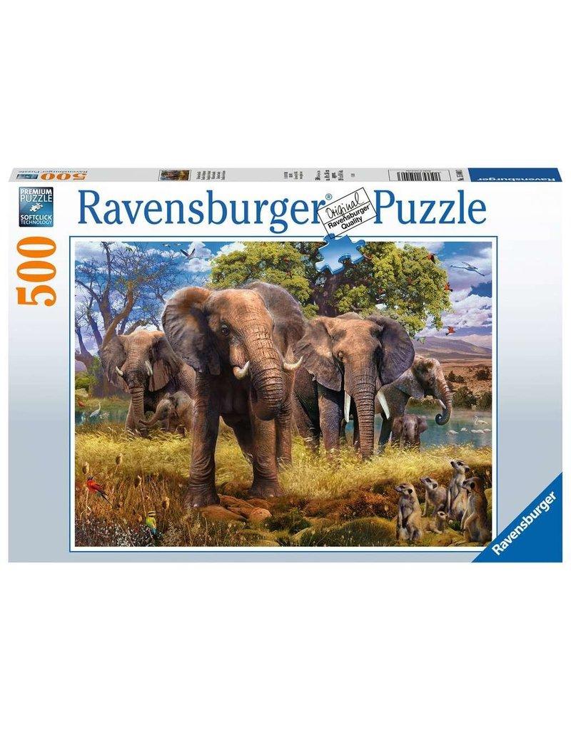 Ravensburger Elephants 500 pc