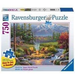 Ravensburger Riverside Livingroom 750 pc XL