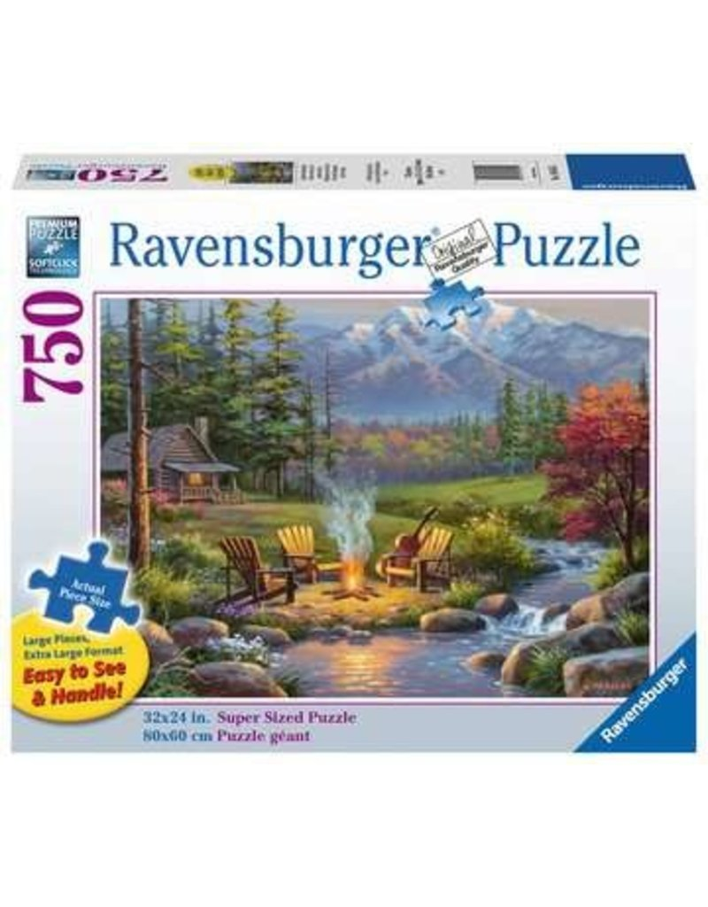 Ravensburger Riverside Livingroom 750 pc XL