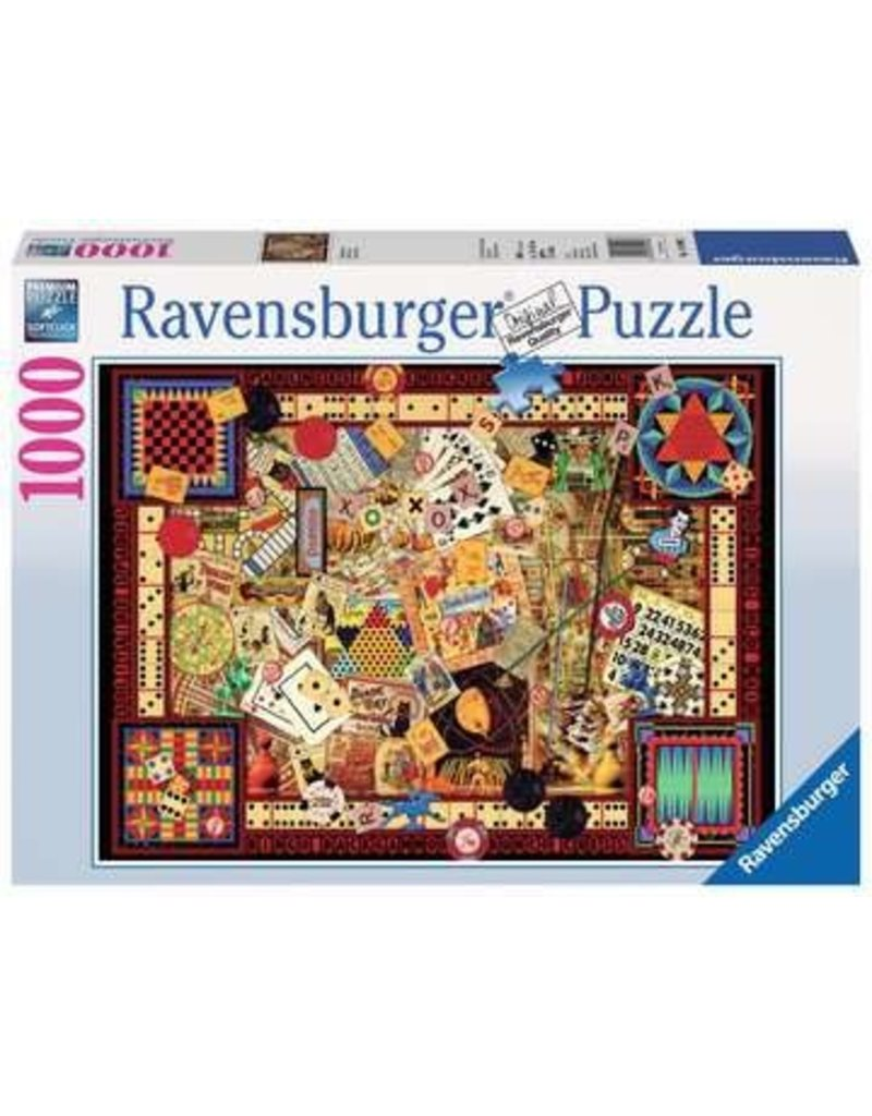 Ravensburger Vintage Games 1000 pc