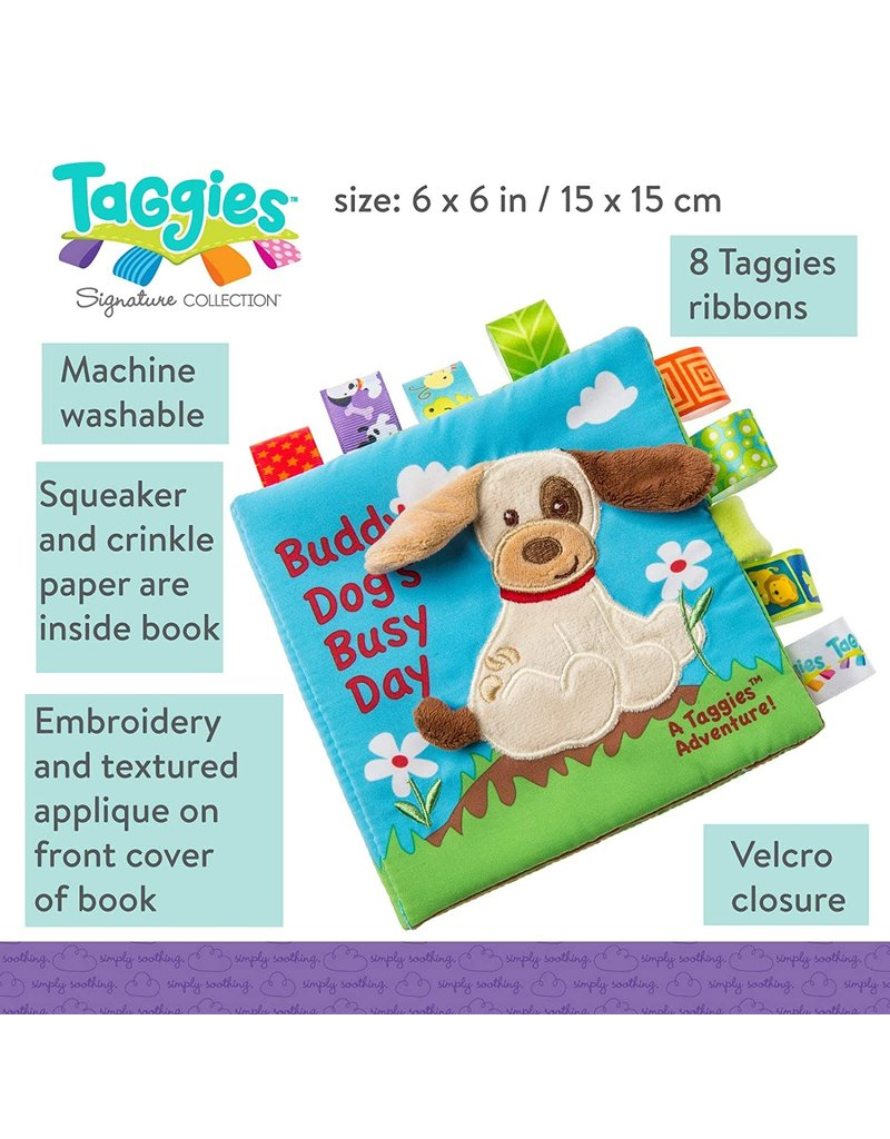 Taggies Taggies Buddy Dog Soft Book