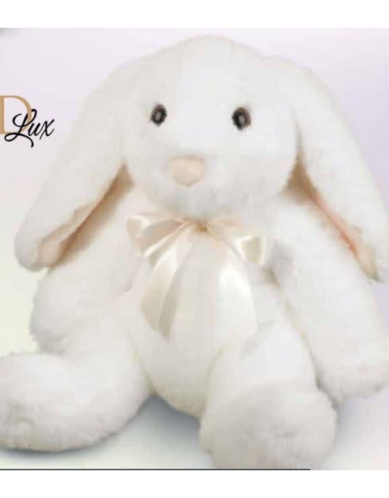 Douglas Toys Bianca Dlux White Sitting Bunny