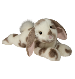 Douglas Toys Ramsey Gray Spotted Bunny