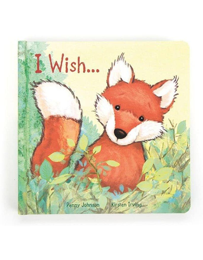 Jellycat I Wish... Book