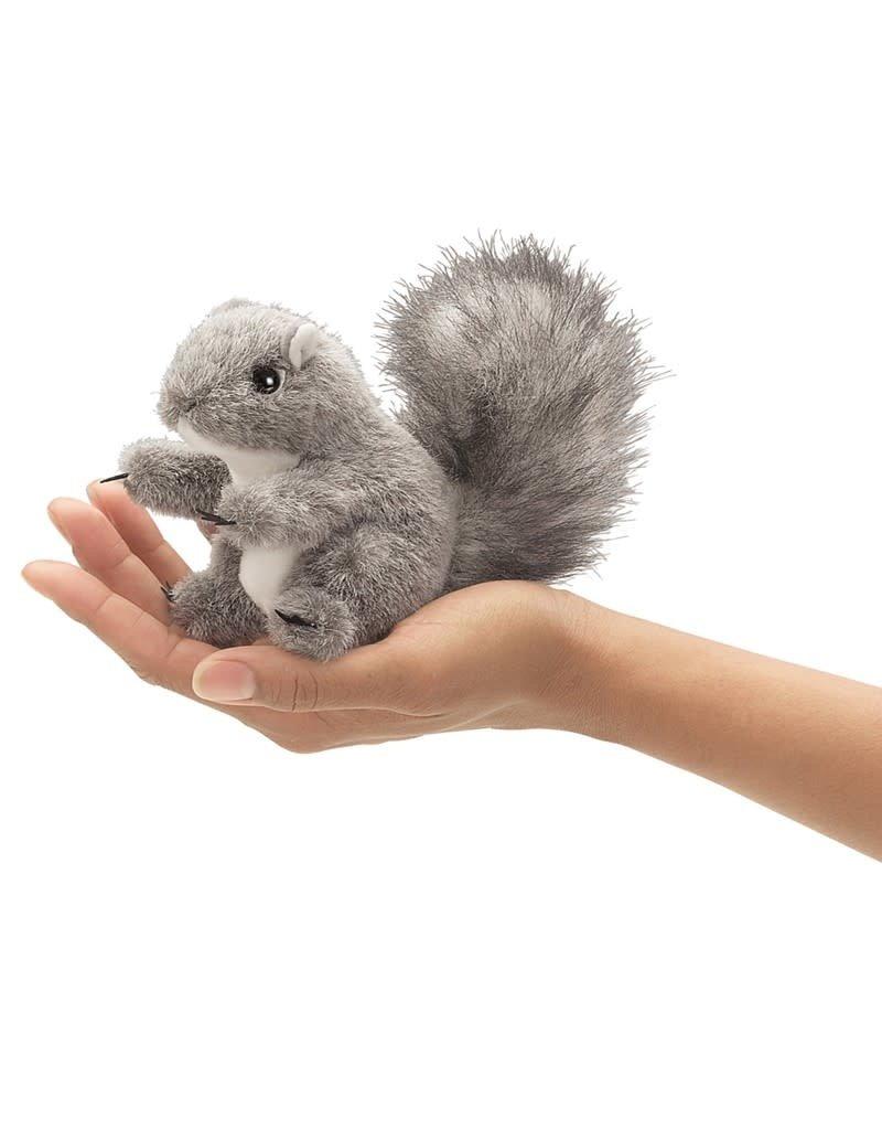 Folkmanis Mini Gray Squirrel Puppet