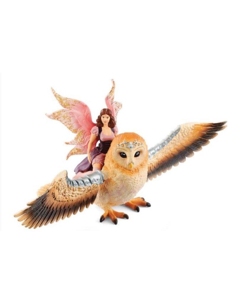 Schleich Fairy in Flight on Glam Owl