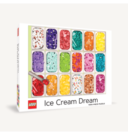Chronicle Books Lego Ice Cream Dream 1000 pc puzzle