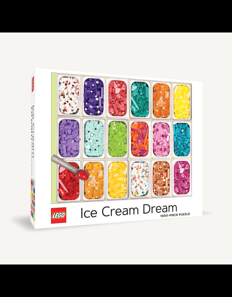 Chronicle Books Lego Ice Cream Dream 1000 pc puzzle