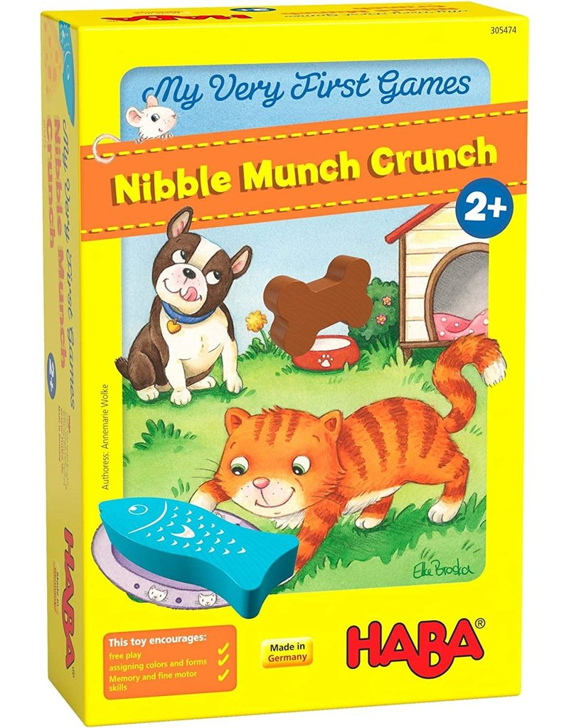 Haba USA First Games Nibbble Munch Crunch