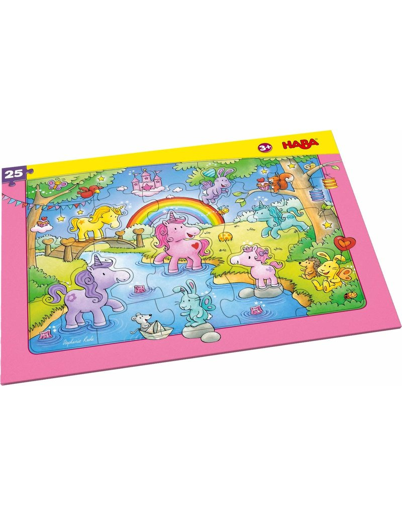 Haba USA Glitterluck Frame  Puzzle