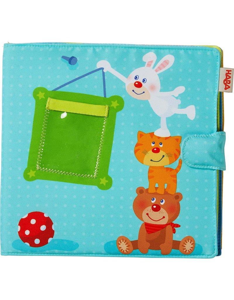 Haba USA Playmates Baby Photo Album