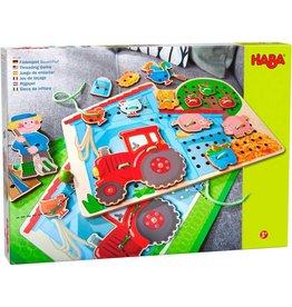 Haba USA Threading Games Farm