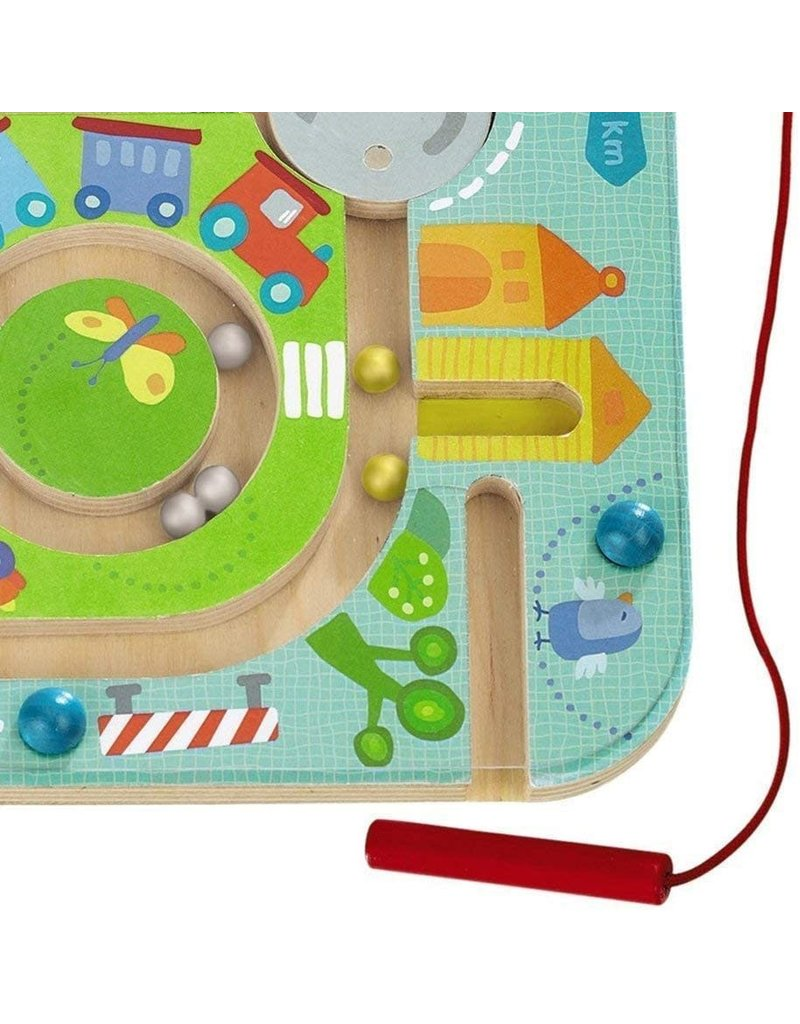Haba USA Magnetic Game Town Maze