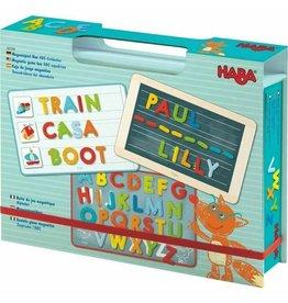 Haba USA Magnetic Game Box ABC