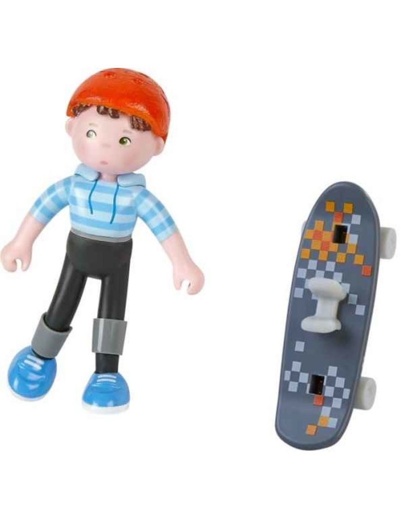 Haba USA Little Friends - Marc Skateboarder