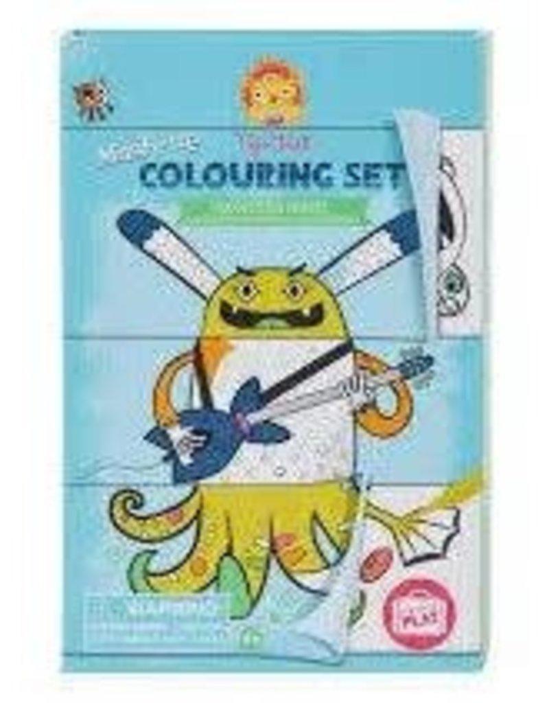 Tiger Tribe Mash Up Colouring Set - Monster Mash