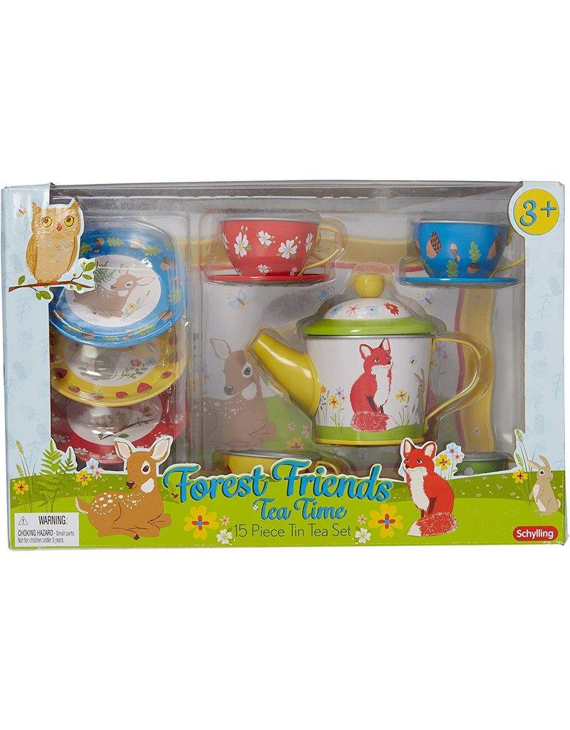 Schylling Forest Friends Tea Set