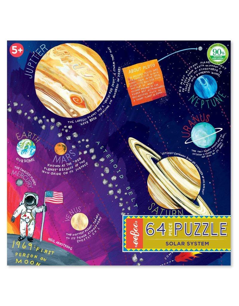Eeboo Solar System 64 pc