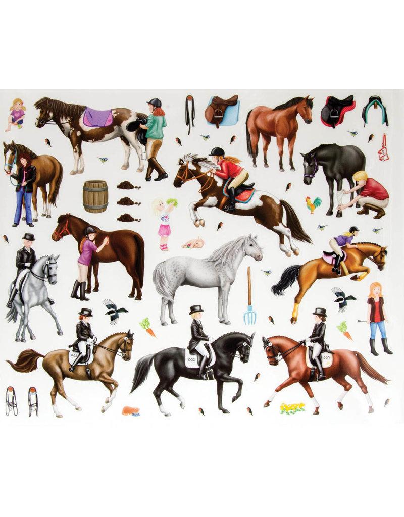 Schylling H.D. Happy Horses Book