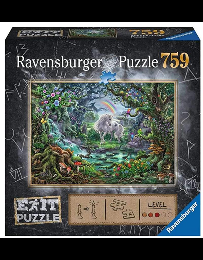 Ravensburger Escape Puzzle - The Unicorn 759 pc