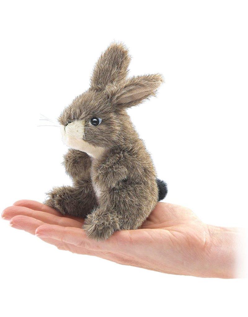 Folkmanis Mini Jack Rabbit Finger Puppet
