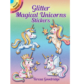 Dover Glitter Magical Unicorns Stickers