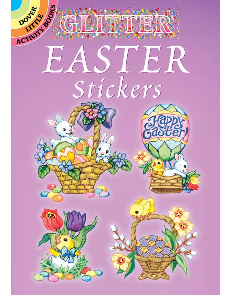 Dover Glitter Easter Stickers