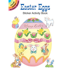Dover Easter Eggs Sticker Activity Book