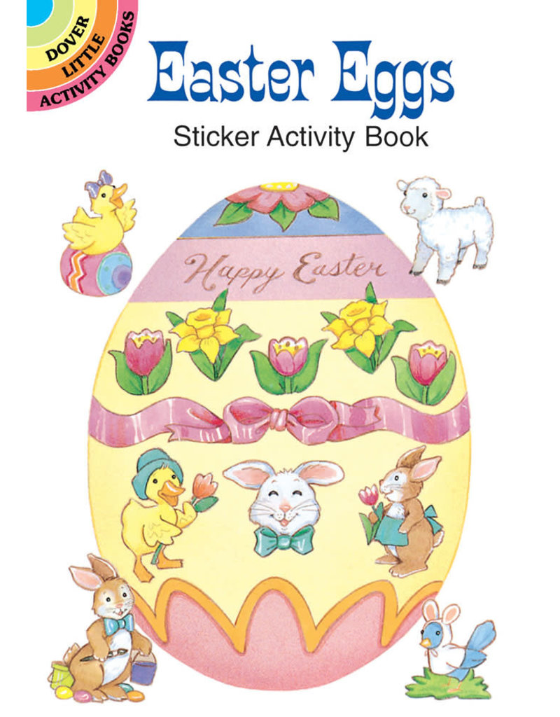 Dover Easter Eggs Sticker Activity Book