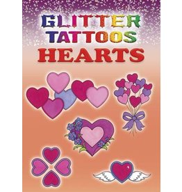 Dover Glitter Tattoos Hearts